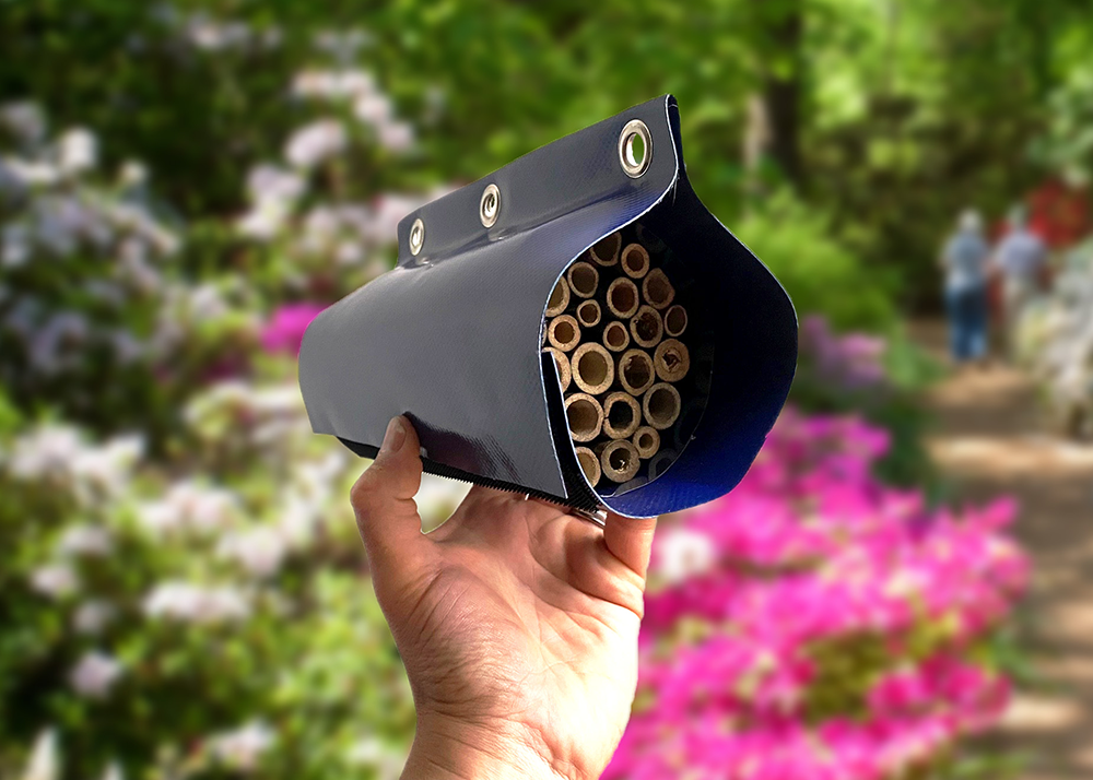 Structure-flex Donate Lorry Curtain Material to Help Bees