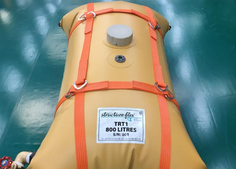 Structure-flex Flexible Tanks Helps Oxfam Bring Fresh Water