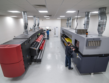 Investment in Super Wide Format Digital Printing
