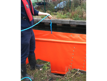 Floating Silt Curtains for Dredging the Norfolk Broads