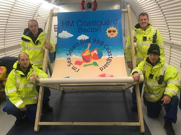 HM Coastguard Bacton Goes LARGE On Safety This Summer!