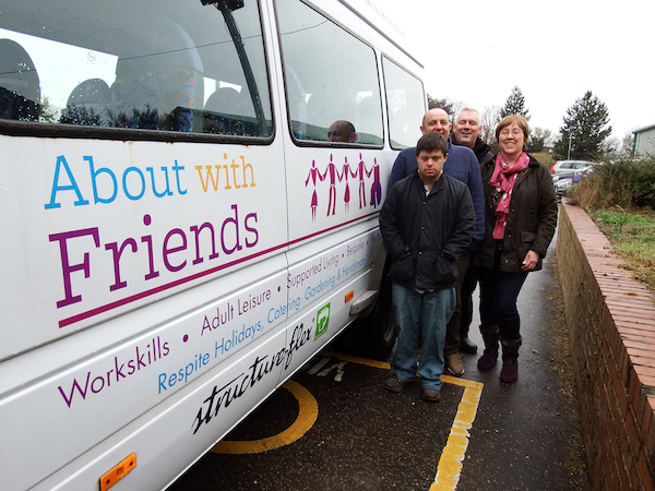 Charity Minibuses Given a Make-Over