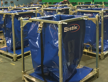 Large Order from Bostik for Eclipse Containers!
