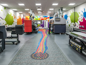 Our Newly Revamped Print Room!