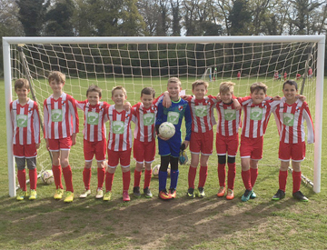 Sponsorship of Holt Youth Football Team