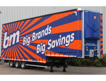 Trailer curtain design is pivotal for safety