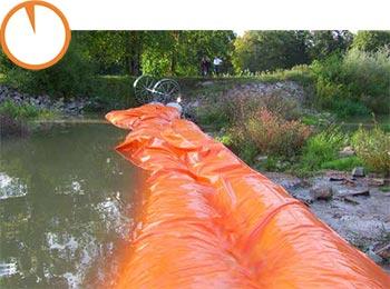 hochwasserschutz schnell aufgebaut
